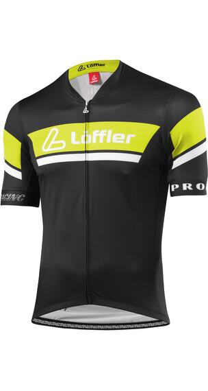Löffler Pro Racing Miehet Pyöräilypaita lyhythihainen , sininen/valkoinen